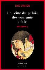 La reine dans Le palais des courants d'air - Stieg Larsson (ISBN 9782742770311)