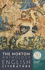 The Norton Anthology of English Literature the Major Authors - Unknown (ISBN 9780393919646)