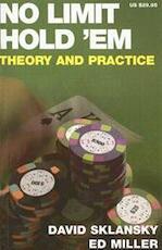 No Limit Hold 'em - David Sklansky (ISBN 9781880685372)