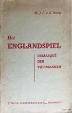 Het Englandspiel - J. E. van Der Starp