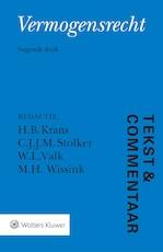Tekst & Commentaar Vermogensrecht (ISBN 9789013139488)