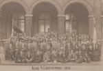 Paul van Ostaijen op 'Kongres van Jong-Vlaanderen - 1914' -
