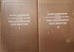 Philosophische Geschriften I & II / Parerga en Paralipomena - Arthur Schopenhauer