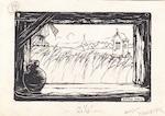 """PIECK – """"Elk deur- en venstergat was een helle schilderij - PIECK, Anton"""