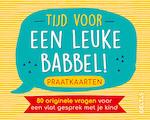 Tijd voor een leuke babbel! Praatkaarten - ZNU (ISBN 9789044753400)
