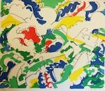 Wyckaert - Wolken. Vijf lithografieën - WYCKAERT, Maurice