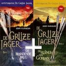 De Grijze Jager Boek 1 en 2 - De ruïnes van Gorlan, De brandende brug - John Flanagan (ISBN 9789490938215)