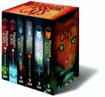 Cadeaubox warrior cats - 6 delen van serie 1 - Erin Hunter (ISBN 9789059244412)