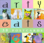 Arty Cats Postcard Book - David Baird (ISBN 9781556709548)