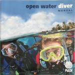 PADI open water diver manual