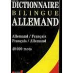 Dictionnaire de poche allemand - Unknown (ISBN 9782237000008)