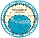 Vakantie planisfeer voor Zuid Europa (40 N) - Rob Walrecht (ISBN 9789080149625)