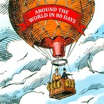 Around the world in 80 days - Jules Verne (ISBN 9789078604563)