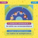 Leerrijke oefenschijf - De tafels van vermenigvuldiging (7-8 j.) / Disque d'apprentissage - Les tables de multiplication (7-8 a.) - ZNU (ISBN 9789044745801)