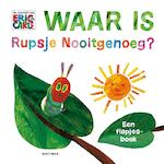Waar is Rupsje Nooitgenoeg? - Eric Carle (ISBN 9789025768287)