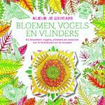 Kleur je origami - Bloemen, vogels en vlinders