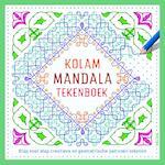 Kolam mandala tekenboek (ISBN 9789044749472)