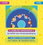 Leerrijke oefenschijf - De tafels van vermenigvuldiging (7-8 j.) / Disque d'apprentissage - Les tables de multiplication (7-8 a.) - ZNU (ISBN 9789044750126)