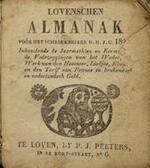Lovenschen Almanak - Unknown