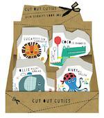 Display 4Tx4E Cut out Cuties Dieren (ISBN 9789463334839)