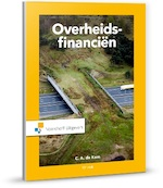 Overheidsfinancien - C.A. de Kam (ISBN 9789001889630)