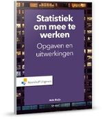 Statistiek om mee te werken - A. Buijs (ISBN 9789001878092)