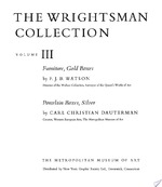The Wrightsman Collection. Vols. 3 and 4, Furniture, Snuffboxes, Silver, Bookbindings, Porcelain (ISBN 9780870990106)