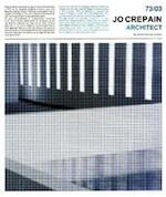 Jo Crepain Architect '73-'03