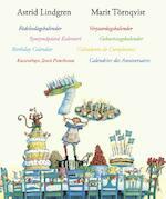 Verjaardagskalender - Astrid Lindgren (ISBN 9789089671660)