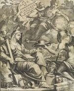 De kerklyke en weereldlyke historien; uyt d'aal-ouwde aardbeschryving, en uytgezogte gedenk-penningen opgehelderd