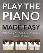 Play the Piano and Keyboard - Alan Brown, Jake Jackson (ISBN 9780857758019)
