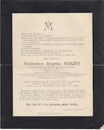 Mercier - Rouwbericht