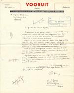 L. P. Boon - 7 handgeschreven brieven aan Van der Heyden (Het Spectrum)