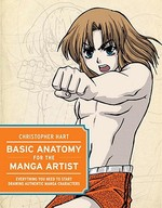 Basic Anatomy for the Manga Artist - Christopher Hart (ISBN 9780823047703)