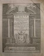 Biblia, dat is De Gantsche H. Schrifture , vervattende alle de Canonycke Boecken des Ouden en des Nieuwen Testaments [etc.] - Unknown