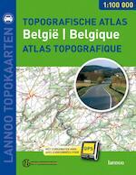 Topografische wegenatlas Belgie = Atlas routier topographique Belgique - Unknown (ISBN 9789020975758)