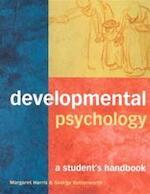 Developmental psychology - Margaret Harris, Amp, George Butterworth (ISBN 9781841691923)