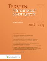 Teksten Internationaal belastingrecht 2018/2019 (ISBN 9789013149265)