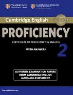 Cambridge English Proficiency 2 With Answers - (ISBN 9781107686939)