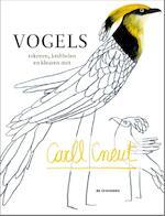 Vogels tekenen krabbelen en kleuren met Carll Cneut (ISBN 9789058389640)
