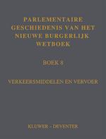 Parlementaire geschiedenis BW Boek 8 (ISBN 9789013138214)