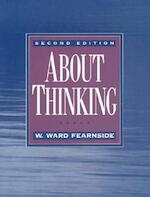 About Thinking - W. Ward Fearnside (ISBN 9780135351895)