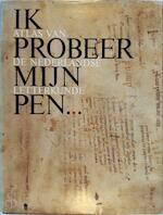 Ik probeer mijn <B>pen</B>... - Red.] H.J.M.F. [E.A. Lodewick, W.A.M. de Amp; Moor, J. Amp; Bernlef (ISBN 9789060196601)