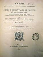 Exposé des Travaux relatifs a la Reconnaissance Hydrographique des Côtes Occidentales de France - Beautemps-beaupré, Daussy