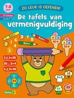 De tafels van vermenigvuldiging 7-8 jaar 2de leerjaar groep 4 - Znu (ISBN 9789044746266)