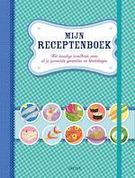 Mijn receptenboek (blauw) (ISBN 9789044751253)
