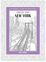 Kleurboek voor volwassenen - New York