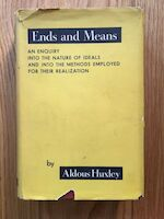 Ends and Means - Aldous Huxley (ISBN 9781412847001)