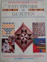 Patronenboek voor patchwork en quilten - Katherine Guerrier, Ellen de Bruin-meyaard, Erica van Rijsewijk (ISBN 9789061136606)