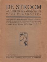 De Stroom. Algemeen Maandschrift voor Vlaanderen [4 nrs. complete set] - Lode [red.] Baekelmans, Paul van EtAl Ostaijen